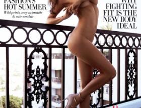 ミランダ・カー、クレームで全裸の表紙が撤去される