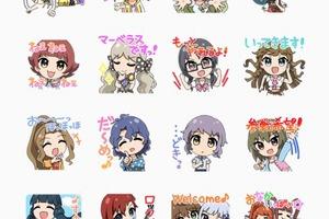 【ミリマス】ミリオンライブのLINEスタンプ第二弾が登場!