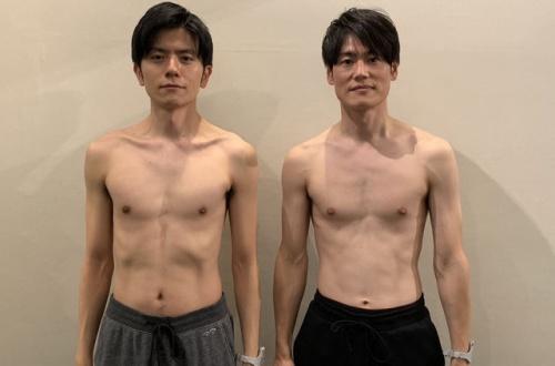 【画像】男ならこれくらいの筋肉は欲しいよな??? のサムネイル画像