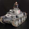 1/35 38(t)軽戦車 ドイツ陸軍 製作 2 完成