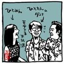 福田アナは「ぺくんちゃん」ってあだ名?あったのにね~モヤさま~下北沢周辺編イラスト
