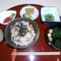 【ランチレポート】6/24 五目炊き込みご飯 by 川畑シェフ