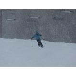 『最終日は一日雪。志賀高原初滑り6期終了。』の画像