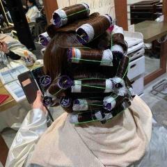 表参道 神宮前 東京 都内で美髪パーマが得意な美容室MINX原宿☆須永健次☆アイロン仕上げの様なナチュラルな大人ウェーブをデジタルパーマでかけてみました。