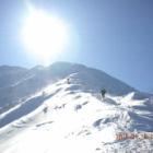 『冬の大山と毛無山の樹氷』の画像