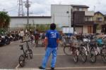 環境事業所にイケメン兄さんがいる!~フリーマーケットの自転車置き場でサワヤカでした~