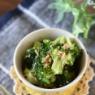 【レシピ・副菜・作り置き】あっという間に副菜1品ができる!ブロッコリーの美味しいナムル