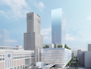 札幌駅前で地上46階、高さ250m、39万5000㎡の超高層ビルが2023年着工!北海道新幹線札幌駅の高架橋工事は2022年度着工!