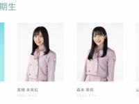 【日向坂46】新三期生のアー写が公開!メンバー区分が「新3期生」から、3期生4人になってて涙。