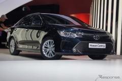 トヨタ カムリ 改良新型車を世界初公開! グローバルモデル一新