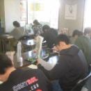 10月13日 白ゆりテスト 炎の勉強会