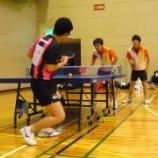 『仙台市個人ラージボール卓球大会』の画像