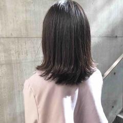 藤田昂補のヘアカラー 暗めでも透ける社会人のための外国人風カラー☺︎