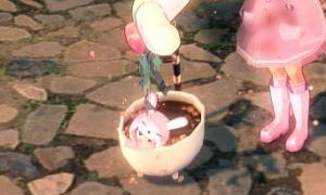 甘いチョコバスタブ シャワーが壊れている