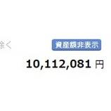 『株式資産総額1000万円を回復したよ(^^)』の画像