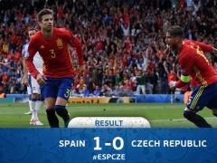 <EURO2016>【 スペイン×チェコ 】試合終了!スペインが後半42分にピケのゴールで先制!そのまま逃げ切り1-0でチェコを下す!