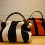 『AURORA PRESTIGE(オーロラプレステージ)ハラコワンハンドルバッグ』の画像