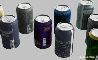 スカイリム缶ジュースMOD