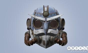 ファーザーウィンターのヘルメット