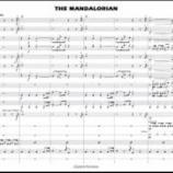 『【海外】スコア見ながら聴ける新譜紹介! 2020年ハル・レオナルド『マンダロリアン』音源&スコア動画です!』の画像