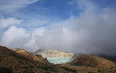 『日本百名山 草津白根山へ行ってきましたょ☆ 湯釜編』の画像