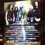 『ARCH ENEMY(アーチ・エネミー)@六本木EXシアター ライブレポート2018』の画像
