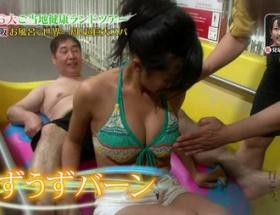 【画像】こじるり、おっさんにおっぱいを触られる放送事故wwwwwwww
