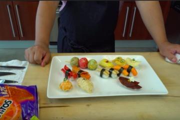 【これぞ海外】ジャンクフードで作った寿司が外国人に大好評!!!!