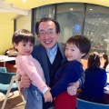 12月12日六本木のNatural Kitchen Yoomiにて
