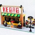LEGOでケバブ屋を作ってみました。