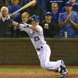 『【MLB】ロイヤルズ・青木、目を潤ませ…「一歩及ばずというところ。悔しいです」「冷静に言葉を出すのは難しい」』の画像