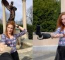 一人で撮る自撮り写真はあまりにも寂しい → 腕型自撮り棒を作った