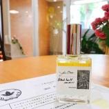 『ハーブ香水を作ってもらいました』の画像