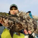 『12月30日、31日 釣行 ロックフィッシュ スロージギング 』の画像