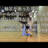 『フットサルビギナー: 引き技 - おすすめ動画』の画像