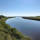 『【北海道ひとり旅】オホーツクドライブ 別海町『ヤウシュベツ川河口 万年橋』』の画像