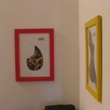 『ピックガードのフレーム飾り』の画像