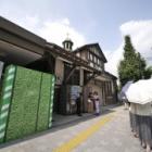 『原宿駅旧駅舎解体始まる 2020/09/11』の画像