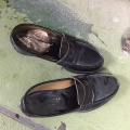 靴の中に...