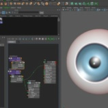 『【Maya2016 チュートリアル動画】簡単な目玉のチュートリアル動画の紹介』の画像