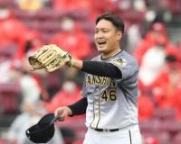 秋山拓巳(29) 防御率2.89 11勝3敗 112.0回 11QS 奪三振64
