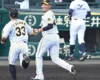 【阪神】秋山が八回途中1失点の力投で5勝目の権利 スタンドから拍手!