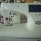『刺繍が出来る家庭用ミシンの中古が残り1台となりました!!』の画像