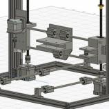 『自作3Dプリンター 作り方①~外枠の設計~』の画像