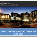 コロンビア大学SIPA留学徒然日記