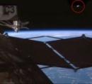 【恐怖】ISSのカメラにエイリアンの宇宙船のようなものが写りこむ
