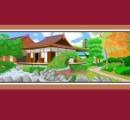 ではここで、ペイントで描いた絵が好評のスペインのお祖母ちゃん(87)の描いた中国の風景を御覧ください