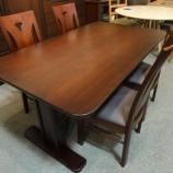 『限定10セット限り、セプター材無垢ダイニングテーブルが兵庫県宍粟市のトーア商事より入荷』の画像
