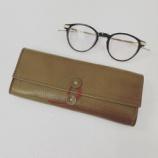 『眼鏡を優しく包むケース『DIFFUSER SHRINK LEATHER SOFT EYEWEAR CASE』』の画像