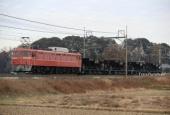 『2018/12/26運転 EF81-81牽引宇都宮ホキ配給』の画像